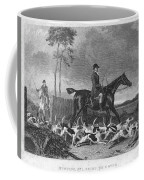 England: Fox Hunt, 1832 Coffee Mug