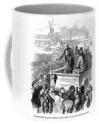 England: Textile Strike Coffee Mug