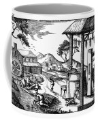 England: Water Mill Coffee Mug