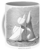 England: Yacht Race, 1868 Coffee Mug