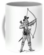English Archer, 1634 Coffee Mug by Granger