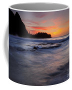 Engulfed By The Sea Coffee Mug by Mike  Dawson