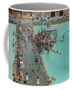Enjoying The Pool At Jones Beach State Coffee Mug