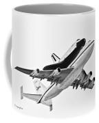 Enterprise Shuttle Ny Flyover Coffee Mug by Regina Geoghan