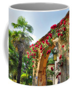 Entrance Arch With Flowers Coffee Mug