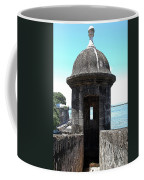 Entrance To Sentry Tower Castillo San Felipe Del Morro Fortress San Juan Puerto Rico Poster Edges Coffee Mug by Shawn O'Brien