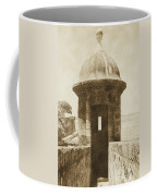 Entrance To Sentry Tower Castillo San Felipe Del Morro Fortress San Juan Puerto Rico Vintage Coffee Mug