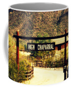 Entrance To The High Chaparral Ranch Coffee Mug