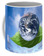 Environmental Issues Coffee Mug by Victor de Schwanberg  and Photo Researchers