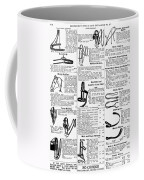 Equestrian Equipment, 1895 Coffee Mug