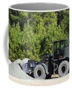 Equipment Operator Gathers A Load Coffee Mug