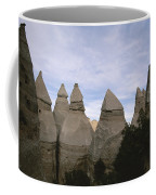 Erosion-chiseled Rock Formations Formed Coffee Mug