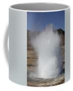 Eruption Of Strokkur Geysir, Iceland Coffee Mug