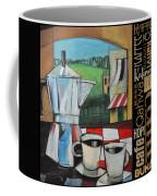 Espresso Coffee Languages Poster Coffee Mug