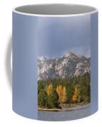 Estes Park Autumn Lake View Vertical Coffee Mug