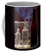 Etched Glass Coffee Mug