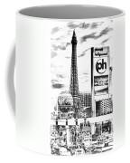 Etched Vegas Coffee Mug