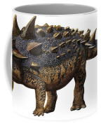 Euoplocephalus Tutus, A Prehistoric Era Coffee Mug