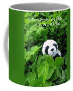 Even Pandas Are Irish On St. Patrick's Day Coffee Mug