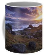 Evening At Breasty Bay Near Malin Head Coffee Mug