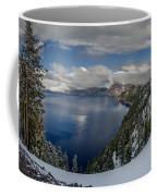 Evening At Crater Lake Panorama Coffee Mug