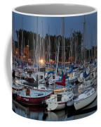 Evening At The Marina Coffee Mug