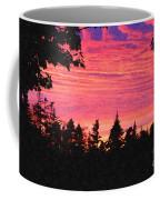 Evening In Paradise Painterly Style Coffee Mug