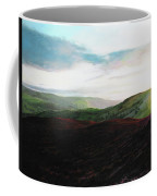 Evening Landscape Towards Llangollen Coffee Mug