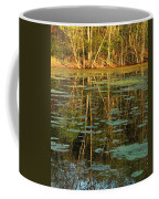 Evening Light On Missouri Pond 2 Coffee Mug