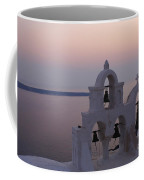 Santorini Greece Evening Light  Coffee Mug