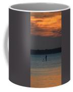Evening Paddleboarder Coffee Mug