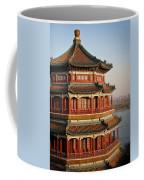 Evening Temple Of The Fragrant Buddha Coffee Mug by Mike Reid