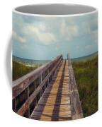 Evening Walk To The Beach Coffee Mug