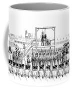 Execution Of John Brown, American Coffee Mug
