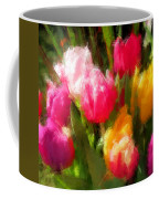 Expressionistic Spring Tulip Explosion Coffee Mug