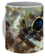 Extreme Close-up Of A Lizardfish Coffee Mug