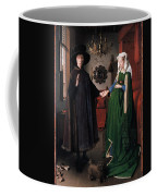 Eyck: Arnolfini Marriage Coffee Mug