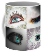 Eye Art Collage Coffee Mug