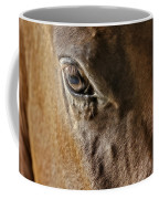 Eye Of The Horse Coffee Mug