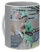 Eye On The Ball Digital Art Coffee Mug