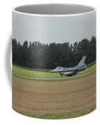 F-16 Of The Belgian Air Force Ready Coffee Mug by Luc De Jaeger