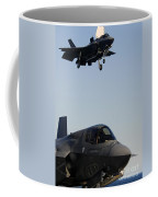 F-35b Lighnting II Variants Land Aboard Coffee Mug
