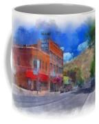 F And S Salida Watercolor Coffee Mug