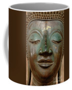 Face Of Bronze Buddha  Coffee Mug