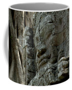 Face Of Stone Coffee Mug