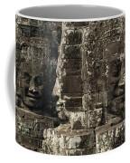 Faces Of Banyon Angkor Wat Cambodia Coffee Mug