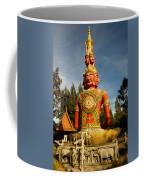 Faces Of Buddha Coffee Mug
