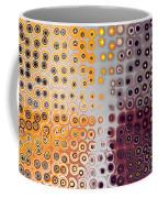 Facets And Circles Coffee Mug