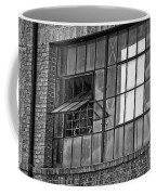 Factory Air In New Orleans In Black And White Coffee Mug