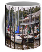 Fairhope Yacht Club Sailboat Masts Coffee Mug